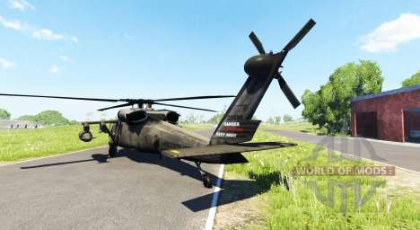 Sikorsky UH-60 Black Hawk для BeamNG Drive