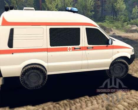 УАЗ 27722 для Spin Tires