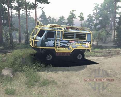 УАЗ 3909 off-road для Spin Tires