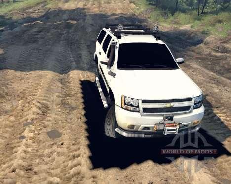 Chevrolet Tahoe для Spin Tires