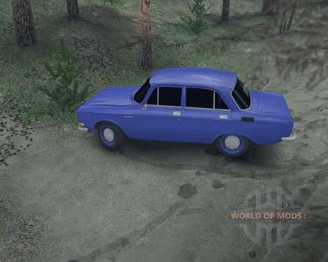 Москвич 2140 для Spin Tires