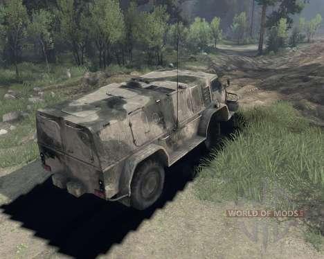 ГАЗ 3937 для Spin Tires