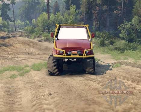 Unimog SWB для Spin Tires