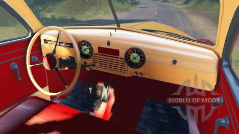 ГАЗ-М-20 Победа для Spin Tires