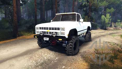 Chevrolet K20 Terror для Spin Tires
