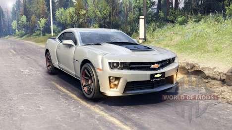 Chevrolet Camaro для Spin Tires
