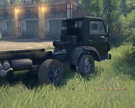 КамАЗ 6540 для Spin Tires