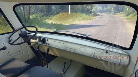 УАЗ-450В [13.04.15] для Spin Tires
