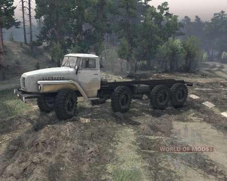 УрАЛ 6614 v2 для Spin Tires