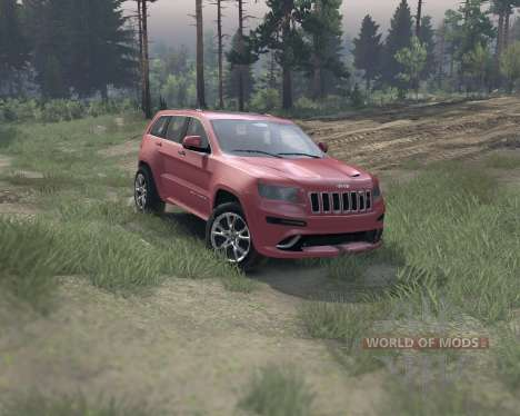 Jeep Grand Cherokee SRT8 для Spin Tires
