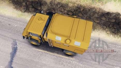 Mercedes-Benz Unimog U1500L для Spin Tires