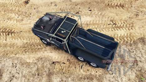 Chevrolet C-20 custom для Spin Tires