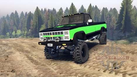 Chevrolet K20 Hunter для Spin Tires