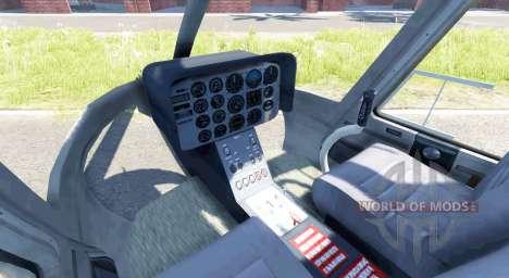 Bell 407 для BeamNG Drive