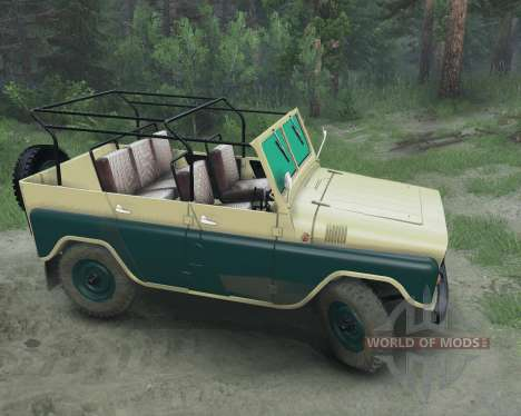 UAZ 469 для Spin Tires