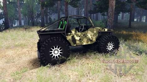 Suzuki Samurai Crawler для Spin Tires