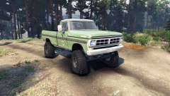 Ford F-200 1968 forest ranger