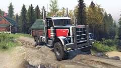 Peterbilt 379 v1.1 red black