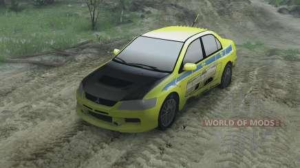 Mitsubishi Evolution для Spin Tires