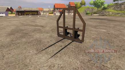 Захват для тюков для Farming Simulator 2013