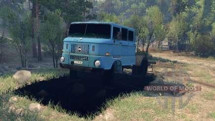 IFA W50 для Spin Tires