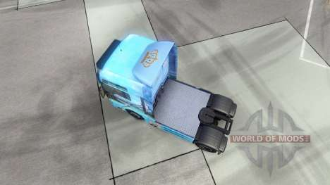 Скин Showtruck Landscape на тягач MAN для Euro Truck Simulator 2