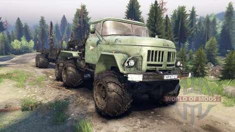 ЗиЛ-137 trailer log для Spin Tires