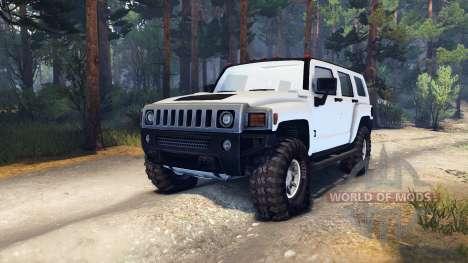 Hummer H3 v0.2 для Spin Tires