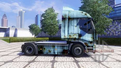 Скин Rusty на тягач Iveco Stralis для Euro Truck Simulator 2