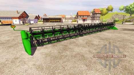 John Deere 650FD v1.1 для Farming Simulator 2013