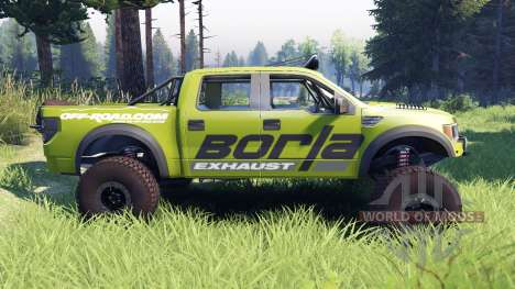 Ford Raptor Pre-Runner v1.1 borla для Spin Tires