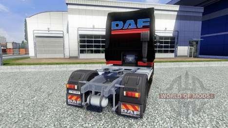 Скин Stocker Transporte на тягач DAF XF для Euro Truck Simulator 2