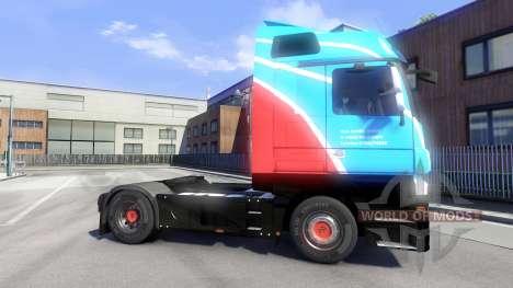 Скин Ihro Jumbo GmbH на тягач Majestic для Euro Truck Simulator 2