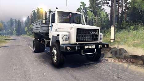 ГАЗ-САЗ-2506 для Spin Tires