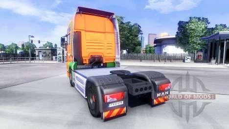 Скин Van Der Vlist на тягач MAN для Euro Truck Simulator 2