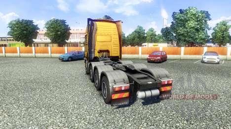 Volvo FH16 8x4 Heavy Duty для Euro Truck Simulator 2