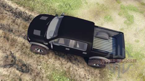 Ford Raptor SVT v1.2 matte black для Spin Tires