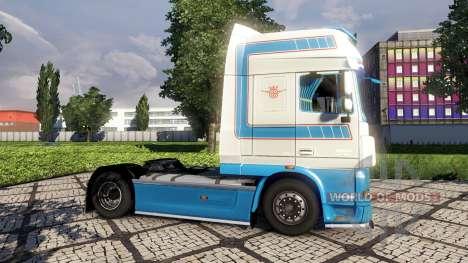 Скин VeBa Trans на тягач DAF для Euro Truck Simulator 2