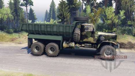 КрАЗ-255 v3.1 для Spin Tires