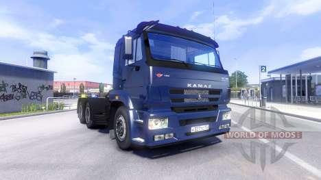 КамАЗ-5460 для Euro Truck Simulator 2