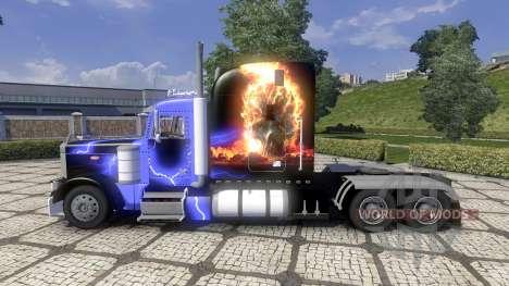 Peterbilt 379 new skin для Euro Truck Simulator 2