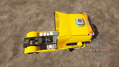 Scania R560 yellow для Farming Simulator 2013