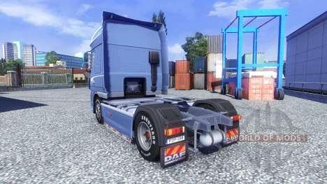 DAF XF 105 Blue Edition для Euro Truck Simulator 2