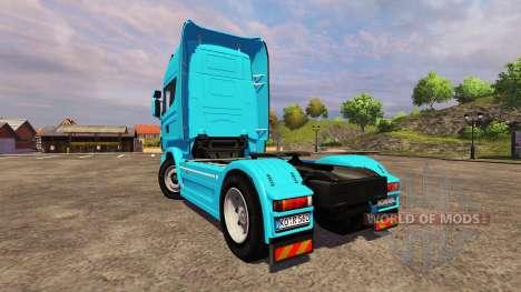 Scania R560 blue для Farming Simulator 2013
