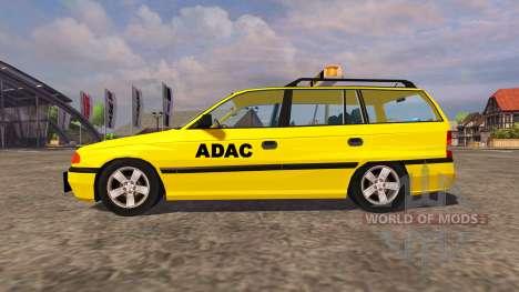 Opel Astra Caravan ADAC для Farming Simulator 2013