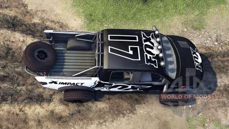 Ford Raptor Pre-Runner fox для Spin Tires