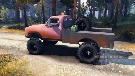 Dodge Power Wagon B-17 Rocks v1.2 для Spin Tires