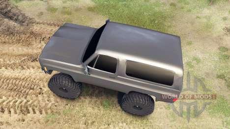 Chevrolet K5 Blazer 1975 для Spin Tires
