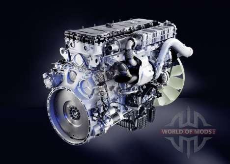 Звук дизельного двигателя Mercedes-Benz Actros для Euro Truck Simulator 2