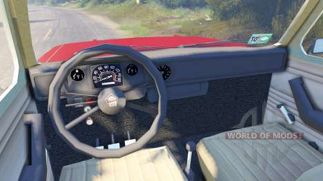 ЗАЗ-968М для Spin Tires